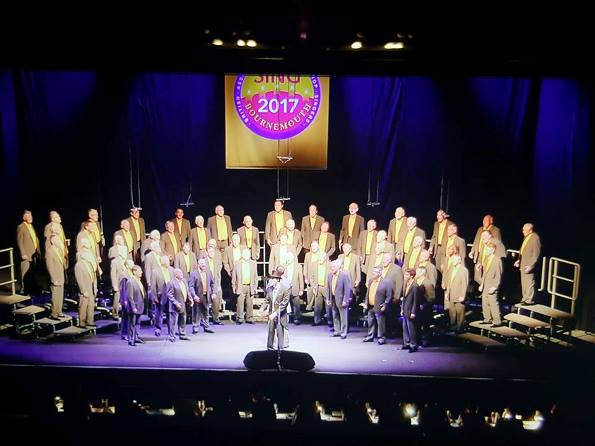 Grand Central Chorus at the 43rd BABS Annual Convention Bournemouth 26-29 May 2017