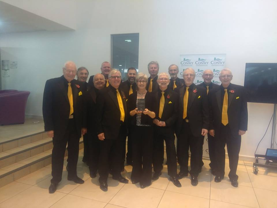 YesterYear win the Male Voice Choir competition at the North Wales Choral  Festival at Llandudno